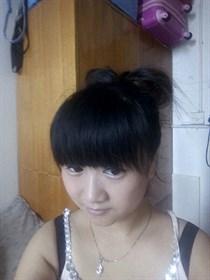 看我的头发刚学的扎的怎么样呵呵