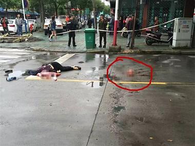 嘉兴惨烈车祸:一中年妇女当场死亡,人首分离!