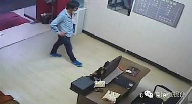 一小偷专门对富阳的美容院和推拿店下手,看看他是如何作案的