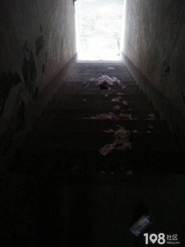 富阳一小区每天满楼道都是垃圾,是人住的地方吗?