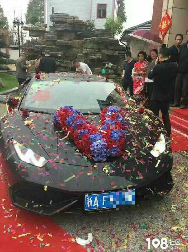 澳洲移民土豪嫁女儿就是不一样!陪嫁的车都是百万豪车