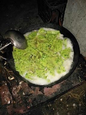 馋人!社友自制家乡美食韭菜面叶,这才是家乡的味道!
