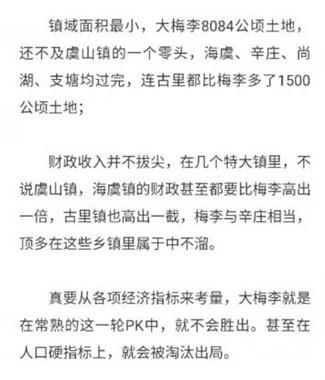 中国千强镇排名公布!古里、海虞很给力!大梅李打脸了吗
