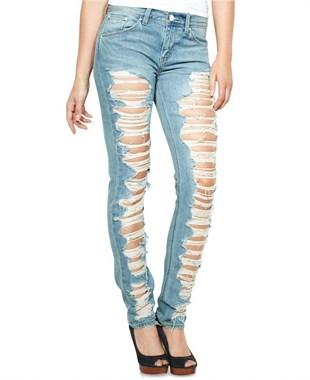 破洞牛仔裤的炫酷进化演变过程