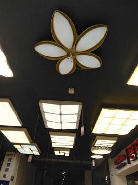淘宝实体灯具,尽在海峡建材广场后排5楼,祥福家居管内,