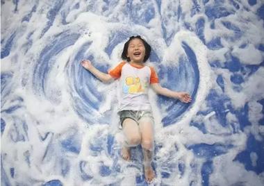 """风靡全球的魔幻泡泡空降瓷都  一起来""""湿身""""吧!"""