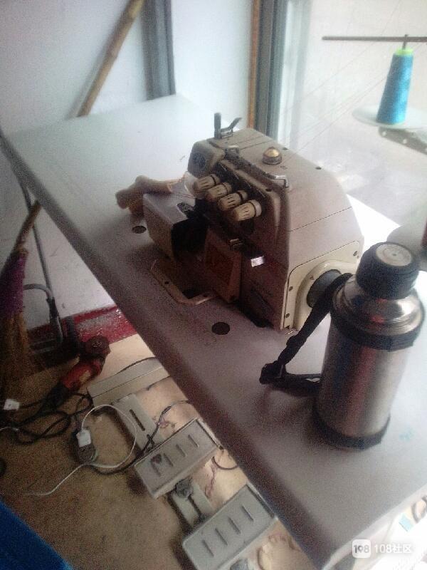 【转卖】铝合金切割机,拷边机,牛牛车