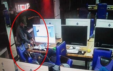 天台男子网吧内手机被偷,为泄愤他竟做出这种荒唐事!