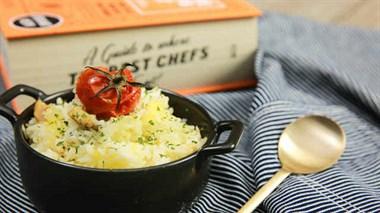 番茄芝士炖饭,在家也吃出幸福感~