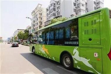 新能源纯电动公交将亮相景德镇 年底前24辆投入高铁区使用