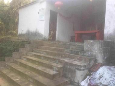 中碧溪村有个地方叫老鼠尾巴,放羊人看到过东西,回来病死了