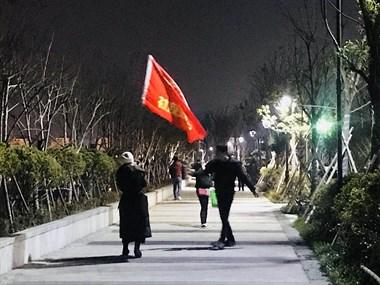 【夜走】夜走继续,天气再冷也抵挡不了我们夜走的热情!