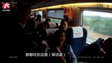 女子高铁上乱吐壳保洁员劝阻遭怒骂:不丢地上要你干啥