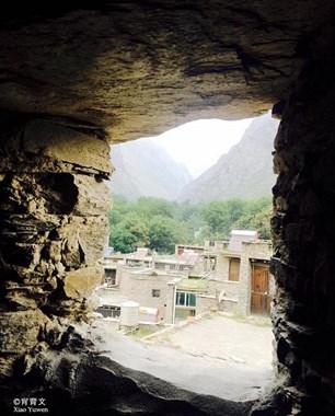 神秘的东方古堡,本寨人进退自如,外人如入迷宫