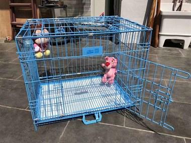 【转卖】小尾巴家中小型猫犬笼 出售狗笼一个