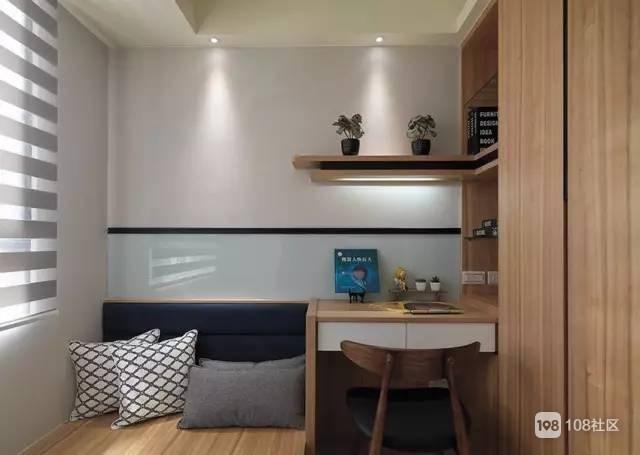 小户型书房+客房,榻榻米设计绝对是最佳选择!