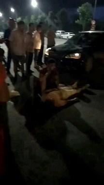 宜安路一孕妇被撞倒地不起,社友都说司机要摊上大事