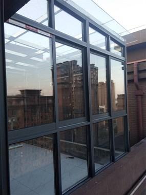 专业封阳台, 阳光房  隐形防盗纱窗,不锈钢防盗窗