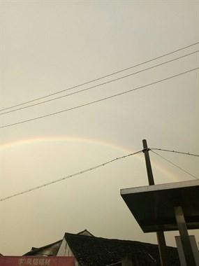 多么美丽的双彩虹
