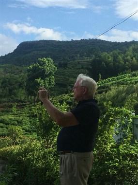 嵊州北部有个小山村,景色怡人环境优美!外国友人都赞不绝口