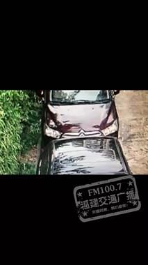 """双重暴击!福州车主车停小区不幸被砸,疑前车所为,还被对方骂""""脑袋"""