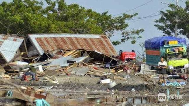 印尼强震及海啸已致至少832人死亡