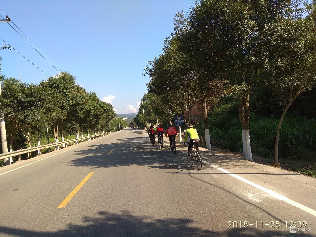 三县区环延平骑行140多公里