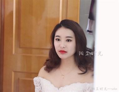 阳芷时光 新娘跟妆作品赏析