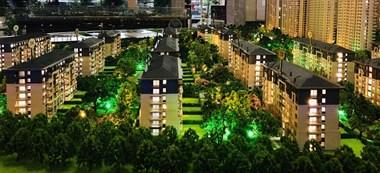 嘉兴市中心,大平层洋房,送花园,送阁楼。