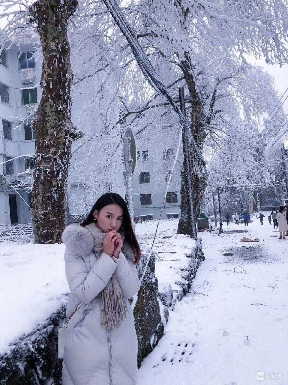 冬天又脸圆了