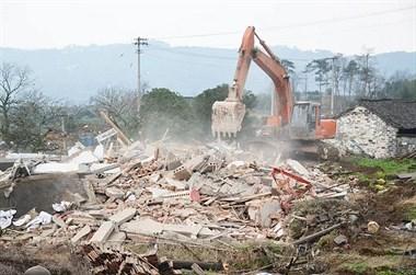 193户搬走!最后一幢房屋被拆除,儒岙这片建筑成历史