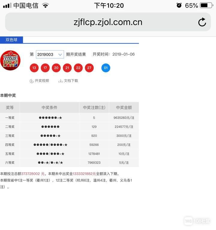 实名羡慕:衢州彩民买彩票中了一等奖,奖金963万!