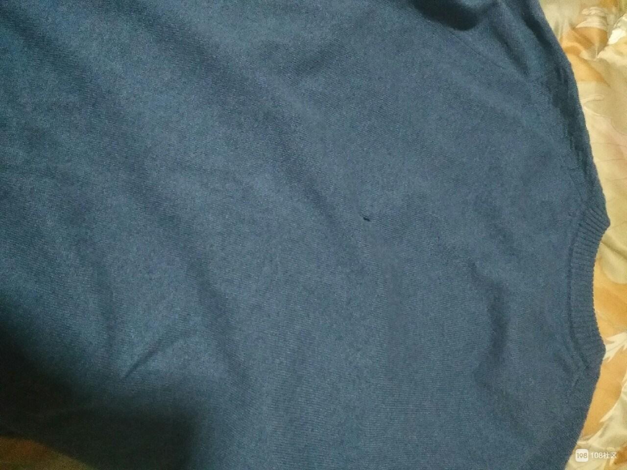 去年亲戚送我的羊毛衫,没穿过就变成这样了!你们遇到过吗?