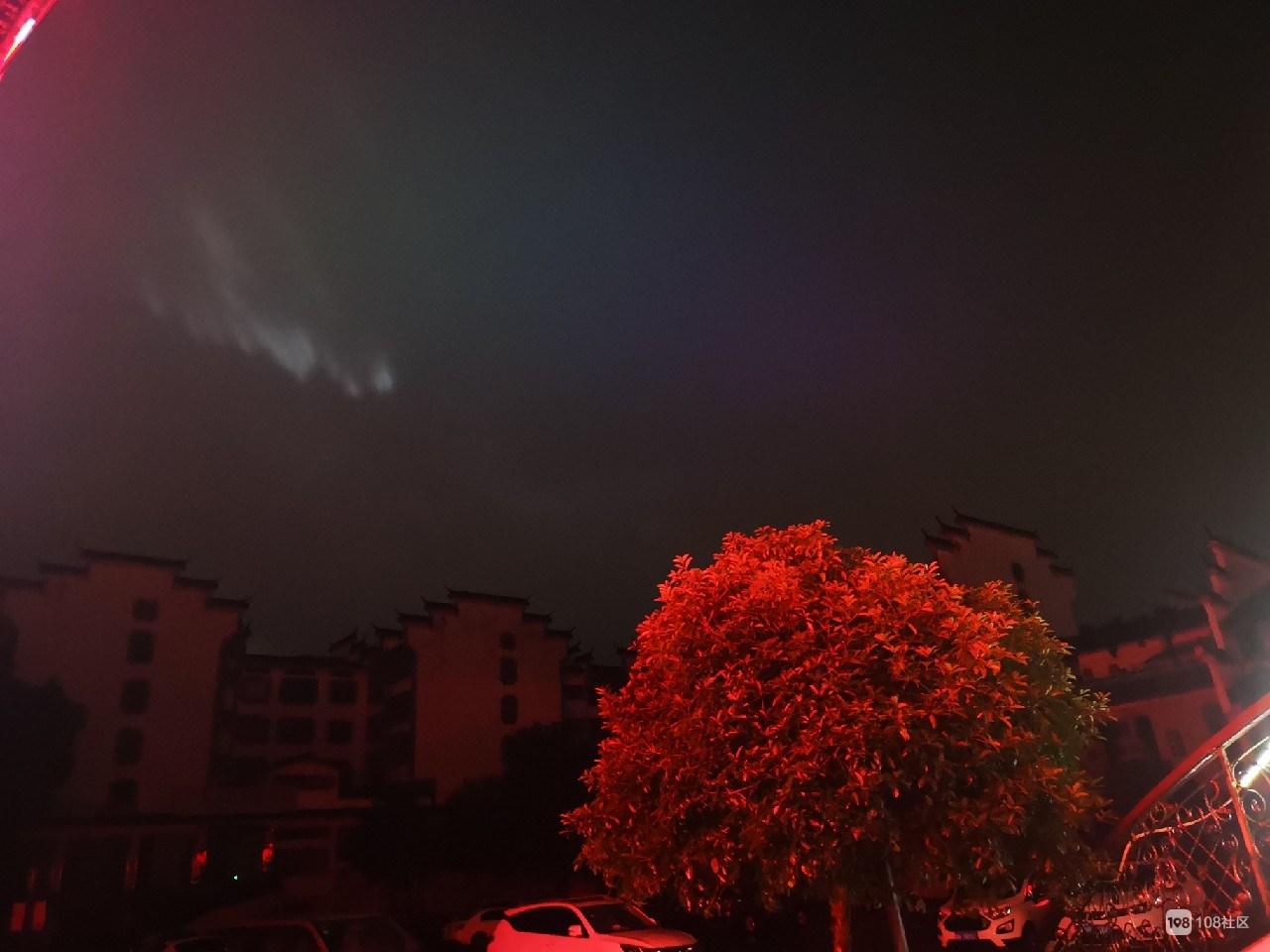 真有UFO吗?凌晨衢州上空现神奇亮光,持续半小时