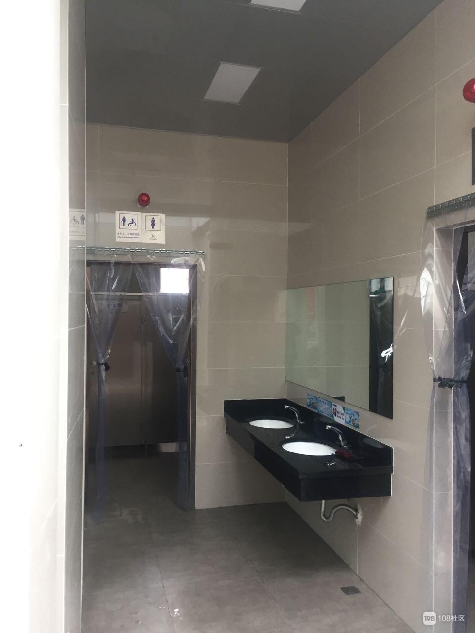 点赞!街心公园终于建厕所了 还配备专职保洁员