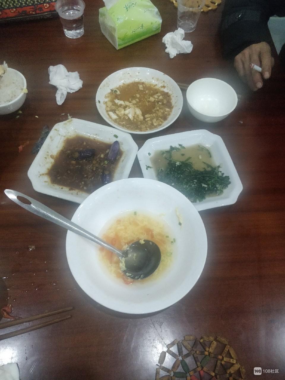 东门点了几盘素菜,社友惊呼太贵!光1盘豆腐就15了