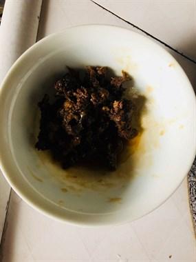 这是我的胎盘呐!奶奶用它烧了一碗,叔叔吃了能大补