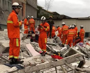 突发!一民房倒塌,多人被困!百人紧急救援