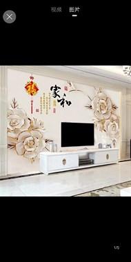 专业贴墙纸墙布壁画
