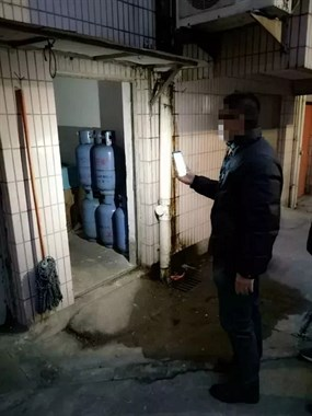 定海一餐饮店主非法储存14个燃气瓶 幸亏被查获了!