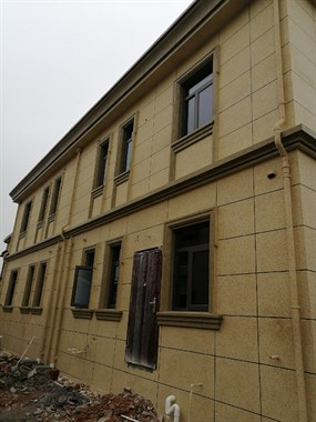 GRC门窗罗马柱装饰线条,