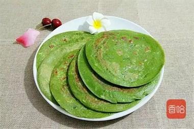 这菜别再扔叶子,搅拌一下煎一煎,5分钟做成早餐饼,好吃又营养