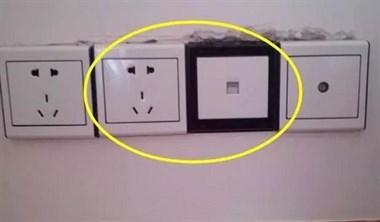 老电工装修这几处都做插座,若是工人没做,让他拆了重装