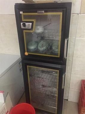 【转卖】出售二手压面机!操作台!消毒柜饮料柜