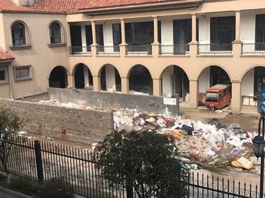 最新!安吉某小区垃圾成堆,社友反馈物业已经清理了