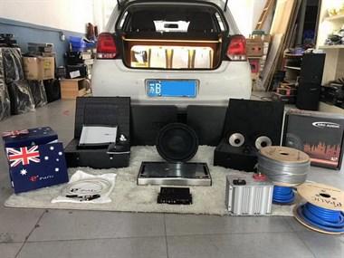 美妙无双 大众POLO汽车音响改装德国伊顿顶级S3三分频