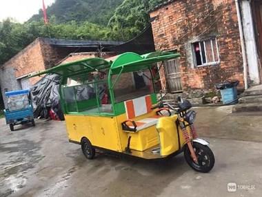 【转卖】9成新三轮餐车  低价出售