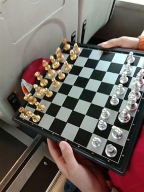公交上一小学生教我下国际象棋,聪明得让人惊讶