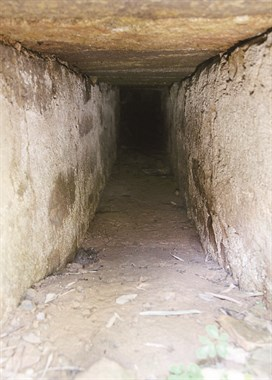 """升玄观小桥旁发现神秘石洞续:原来是""""大跃进""""遗物"""