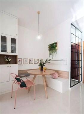69平的简约风小户型二居室,这种小清新的设计好喜欢